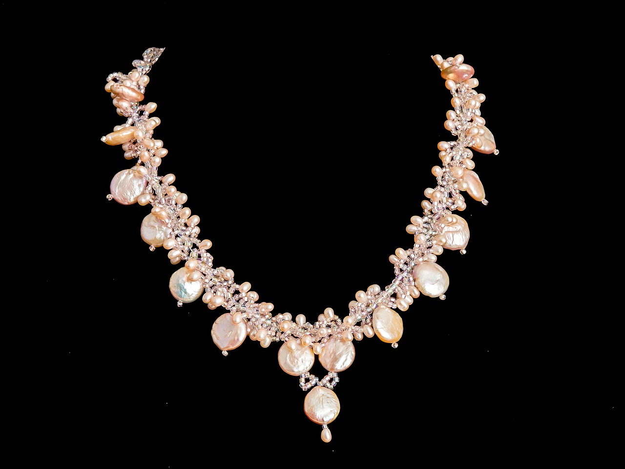 necklace, pearl, jewelry